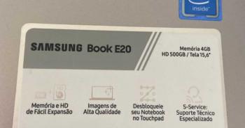 Notebook Samsung book E20